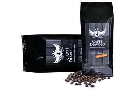 Caffe Diavolo Nero Hawaii Kona Kaffee